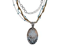 Jewelry Making Designs - Lisa's Bridesmaid Necklace