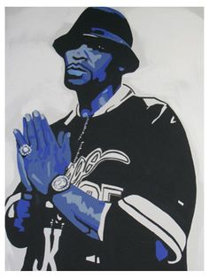 Painting of R Kelly by Tanya Garland