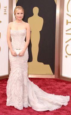 Kristen Bell from 2014 Oscars Red Carpet Arrivals   E! Online