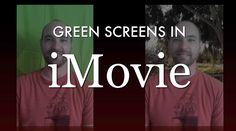 Learn to use the green screen feature of iMovie in your classroom. It's inexpensive and easy!
