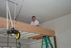 Perfect Nighthawk Garage Loft Project   Over The Garage Door Opener! Great Use Of  Wasted Space. Garage LoftDiy GarageGarage IdeasGarage Storage ...