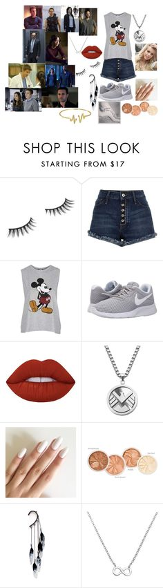 """""""What if?"""" by stunningnebulas on Polyvore featuring Benefit, Topshop, NIKE, Lime Crime, Anni Jürgenson, La Preciosa and Bling Jewelry"""