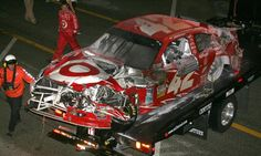 Dale Earnhardt Jr. acquires car that Montoya crashed into jet dryer