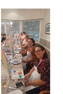 PaintFling private and public paint n sip paint nite party Oahu Hawaii