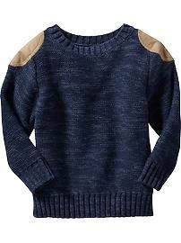 Old Navy 2015, what to wear holidays, Shoulder-Patch Sweater for Baby