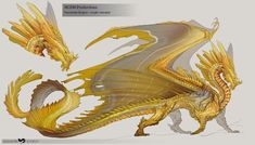 Creature Concept Art, Creature Design, Mythical Creatures Art, Fantasy Creatures, Fantasy Dragon, Fantasy Art, Manga Dragon, Cool Dragons, Types Of Dragons