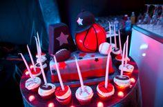 A sports themed Bar Mitzvah cake. | MitzvahMarket.com