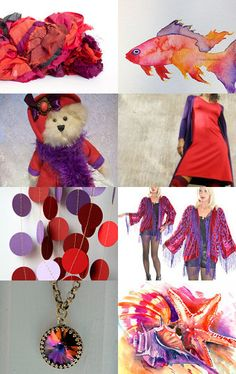 BERRY PUNCH  by Orit Bar-Lev on Etsy--Pinned with TreasuryPin.com