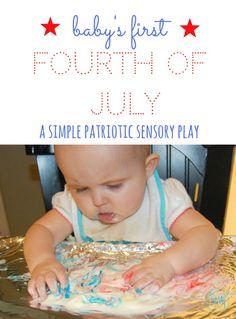 simple sensory play