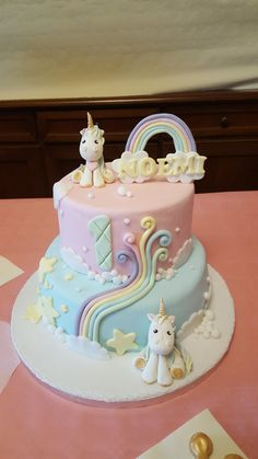 Unicorn cake unicorno torta pdz