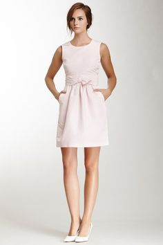 RED Valentino Sleeveless Bow Waist Dress by Non Specific on @HauteLook
