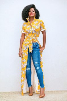 Amazing Stylish African Clothing Tips 1989424845 African Print Fashion, Africa Fashion, African Fashion Dresses, Chic Outfits, Spring Outfits, Fashion Outfits, African Wear, African Dress, African Style