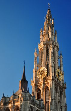 Onze Lieve Vrouwekathedraal, The Cathedral of Our Lady - Antwerp, Belgium