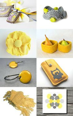 Lovely Yellow by Marla on Etsy--Pinned with TreasuryPin.com