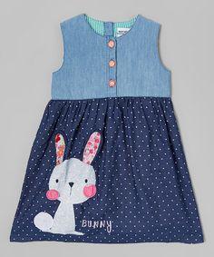 Look what I found on #zulily! Blue Rabbit A-Line Dress - Infant, Toddler & Girls #zulilyfinds