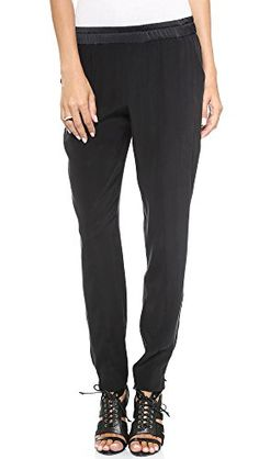 Black velour dress pants