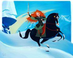 Disney character switch Merida