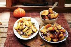 Kijk wat een lekker recept ik heb gevonden op Allerhande! Perfect geroosterde aardappelen (3 smaakcombi's)