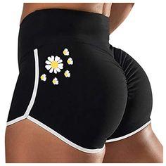Sport Shorts, Gym Shorts Womens, Sports Trousers, Yoga Accessories, Printed Pants, Women's Summer Fashion, Summer Shorts, Elastic Waist, Pants For Women