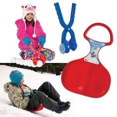 Nothing like a little sledding for winter!