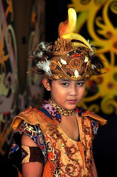 Young Warrior by Juniardi Saktiawan on Flickr - Young Dayak teenager