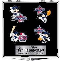 Los Angeles Angels of Anaheim 2010 All-Star Game Disney Pin Set