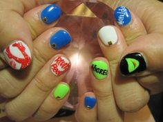Wicked the musical nail art kl nail salon inc 31 avenue u kinky boots and wicked nails prinsesfo Choice Image