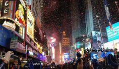 【アメリカ】2014→2015カウントダウン!ニューヨークで世界一の年越しをしよう