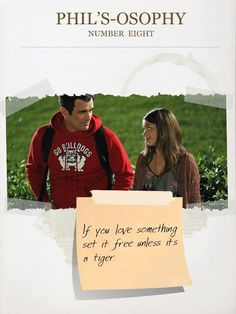 Home Watching Modern Family. If you love something, set it free. Watch Modern Family, Modern Family Funny, Modern Family Quotes, Morden Family, Phil Dunphy, Aesthetic Words, Cartoon Network Adventure Time, Book Tv, Movie Quotes