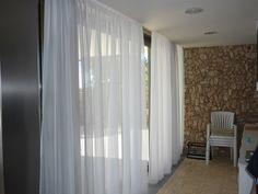Visillos y cortinas veraniegas