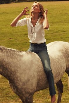 equestrian beauty/style