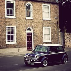 | ♕ |  Classic Mini Cooper - St. Ives, UK  | by © Catherine