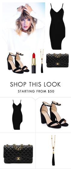 """""""Taylor swift"""" by crystal-forever ❤ liked on Polyvore featuring Nasty Gal, Chanel, Oscar de la Renta and contest"""