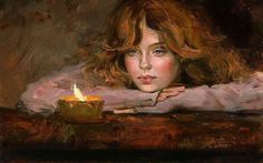 art Irene Sheri Vishnevskaya candle light