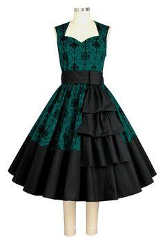 Emerald Isle Dress with Swag Sash