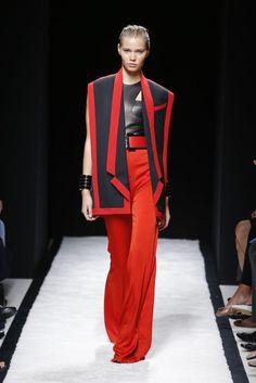 Balmain Spring 2015 Paris Fashion Week