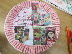 Fabulous in Fourth! Author's Purpose activity