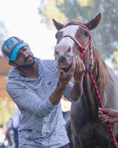 Prince Hamdan Fazza with friend ramaah