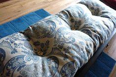 Love this seat cushion idea!