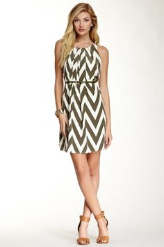 Beautiful chevron dress.