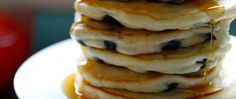 Anna Olson's Blueberry Pancakes