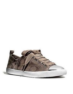 Coach :: New Makayla Sneaker Coach Sneakers, Coach Shoes, Shoes Sneakers, Cute Shoes, Me Too Shoes, Shoes Heels Boots, Heeled Boots, Shoes Sandals, Casual Shoes