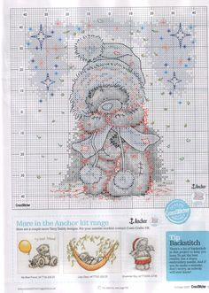 Winter Tatty Teddy pattern