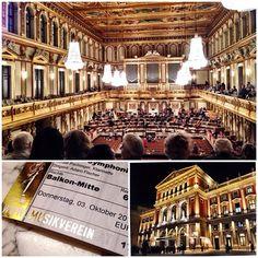 ウィーン楽友協会ホール 見学だけでも行きたいな