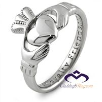 History and meaning of the Claddagh ring.