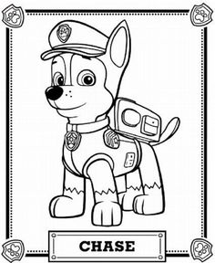 PAW Patrol Coloring Pages More