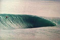 Una ola.