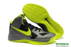 Nike Zoom Hyperfuses 2013 For Cheap Supreme Lime Green Metallic Silver Black 454138 030