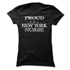 Cool Proud to be a NEW YORK Nurse  ndh Shirts & Tees