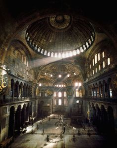 Hagia Sophia, Istanbul, picture from the series Colour by Erich Lessing, artist of category MASTERS at photo art editions LUMAS Architecture Byzantine, Islamic Architecture, Hagia Sophia Istanbul, Sainte Sophie, Photos Voyages, Buy Art Online, Best Sites, Kirchen, Roman Empire